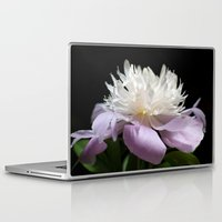 peony Laptop & iPad Skins featuring Peony  by Maria Rose Collection
