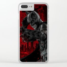 The Bat Clear iPhone Case
