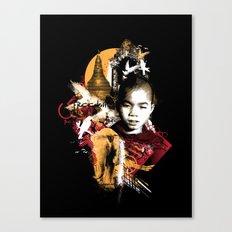 Monk Canvas Print