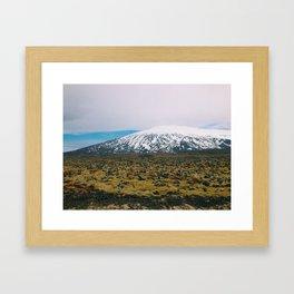Snaefellsjoekull National Park Framed Art Print