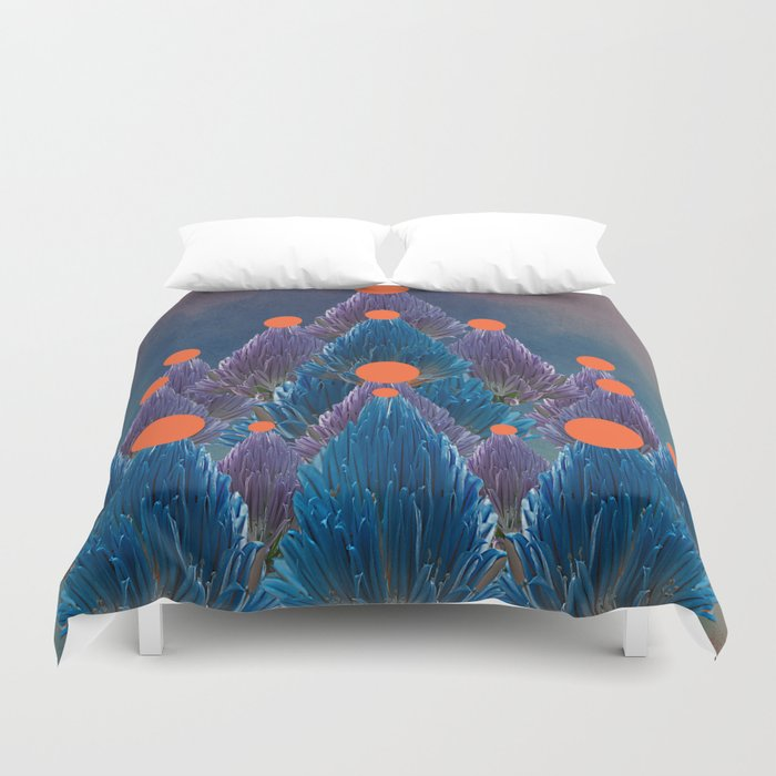 Floral abstract(49). Duvet Cover