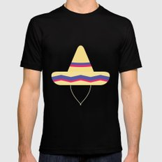 #31 Sombrero MEDIUM Black Mens Fitted Tee