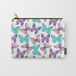 Flutter Butterfly Pattern Carry-All Pouch