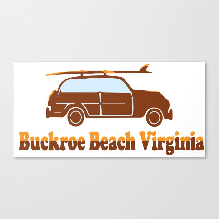 Buckroe Beach - Virginia. Canvas Print
