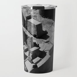 The Clay Labyrinth Ruins Travel Mug