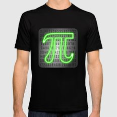 Pi Day Mens Fitted Tee Black MEDIUM