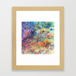 Vacation In The Sky Framed Art Print