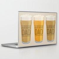 dad Laptop & iPad Skins featuring DAD by Kiley Victoria