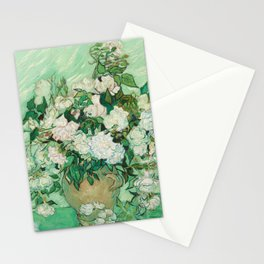 Roses by Van Gogh Stationery Cards