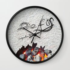 Defy conformationtotheworld Wall Clock