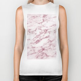 Contento rosa pink marble Biker Tank