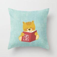 Fairy Tales, Teddy Bear Throw Pillow