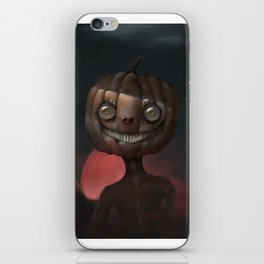 Scary Smile iPhone Skin