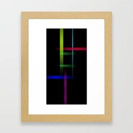 HT Lines Framed Art Print