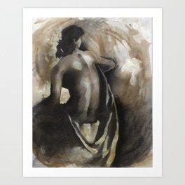 Female Nude #1 Art Print