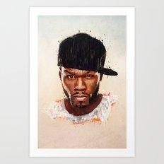 50 Cent Art Print
