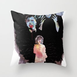 Celebrate monsters Throw Pillow