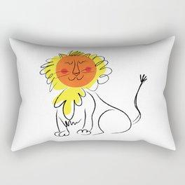 Jolly Lion Rectangular Pillow