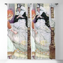 """""""Madam Holle"""" Fairy Tale Art by Anne Anderson Blackout Curtain"""
