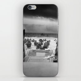 Omaha Beach Landing -- D-Day Normandy Invasion iPhone Skin