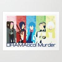 dmmd Art Prints featuring DMMD by Ocelotdude Designs