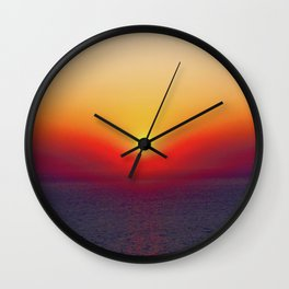 Live By The Sun 2 Wall Clock