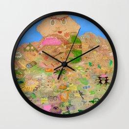 Garbage Pale Kids Wall Clock