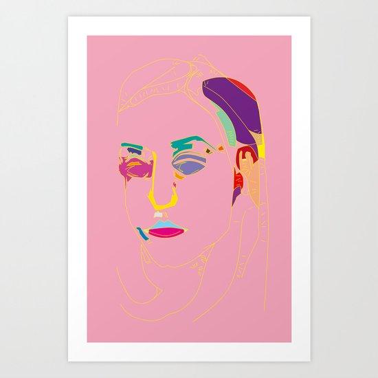 Introspection Art Print