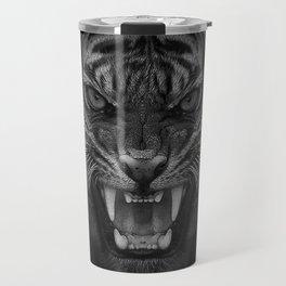 Heart of a Tiger Travel Mug