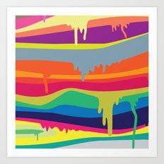Melt On Art Print