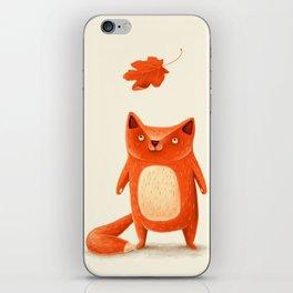 I am autumn (2) iPhone Skin