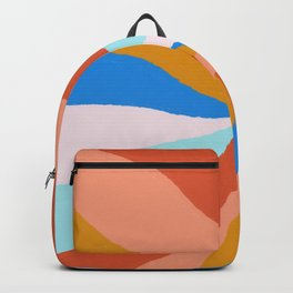 Camryn, rainbow leaf Backpack