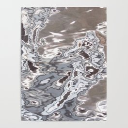 SILVER WATER Poster