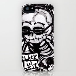 Dark Diary iPhone Case