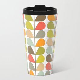 Retro Mid Century Modern Pattern 3 Travel Mug