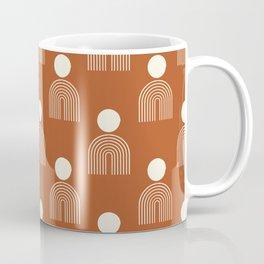 Full moon rainbow pattern collection SS02 Coffee Mug