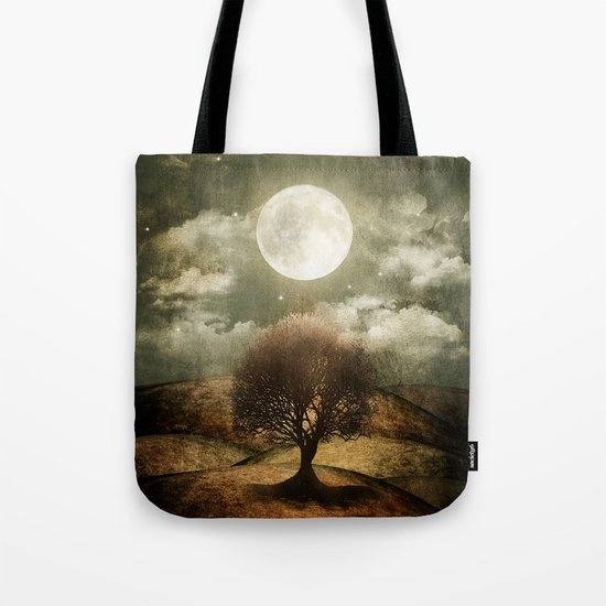 Once upon a time... The lone tree. Tote Bag
