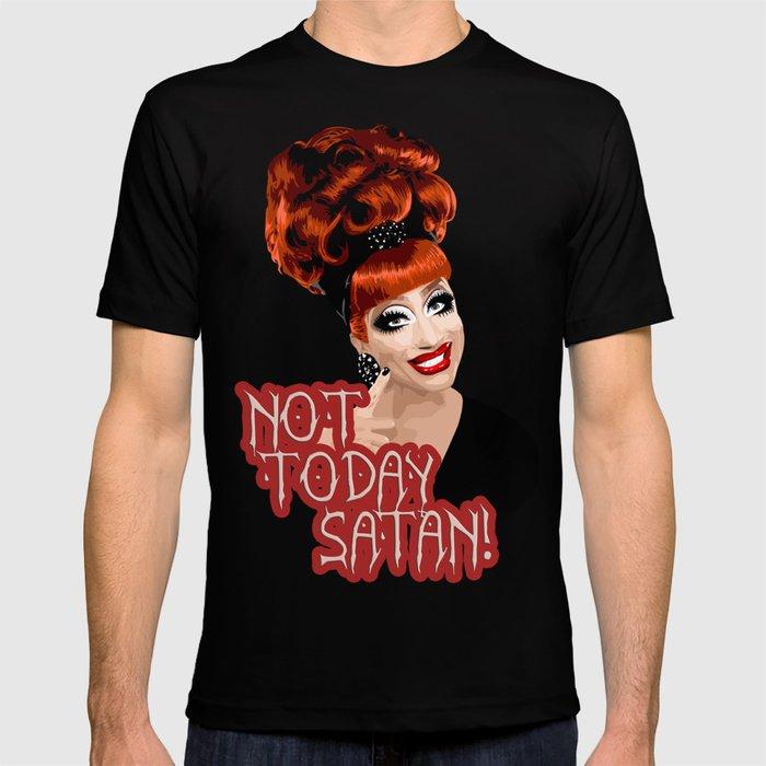 5be093480e Not Today Satan!' Bianca Del Rio, RuPaul's Drag Race Queen T-shirt ...