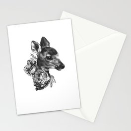 Fawn & Flora I Stationery Cards