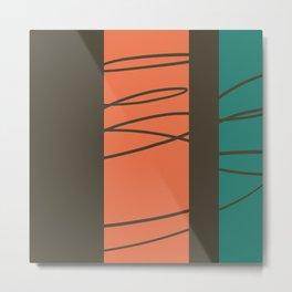High Stakes #minimal  Metal Print