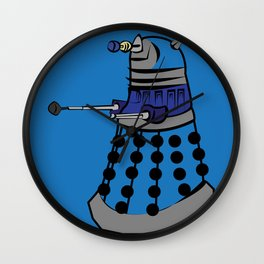Pop Dalek Wall Clock