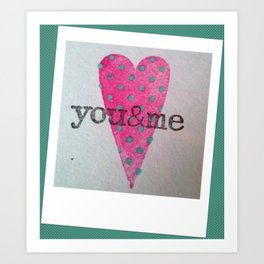 Nothing but Love Art Print