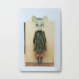 lil gal mouse Metal Print