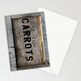Upside Down Carrot Box Stationery Cards