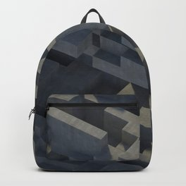Abstract Concrete IV Backpack