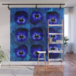 Deep Blue Velvet Wall Mural
