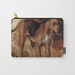 """William Holman Hunt """"Study Of A Bloodhound"""" Carry-All Pouch"""