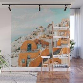 Santorini #travel #greece Wall Mural