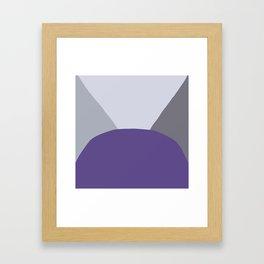 DeYoung Ultra Violet Framed Art Print