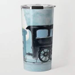 the arctic express Travel Mug